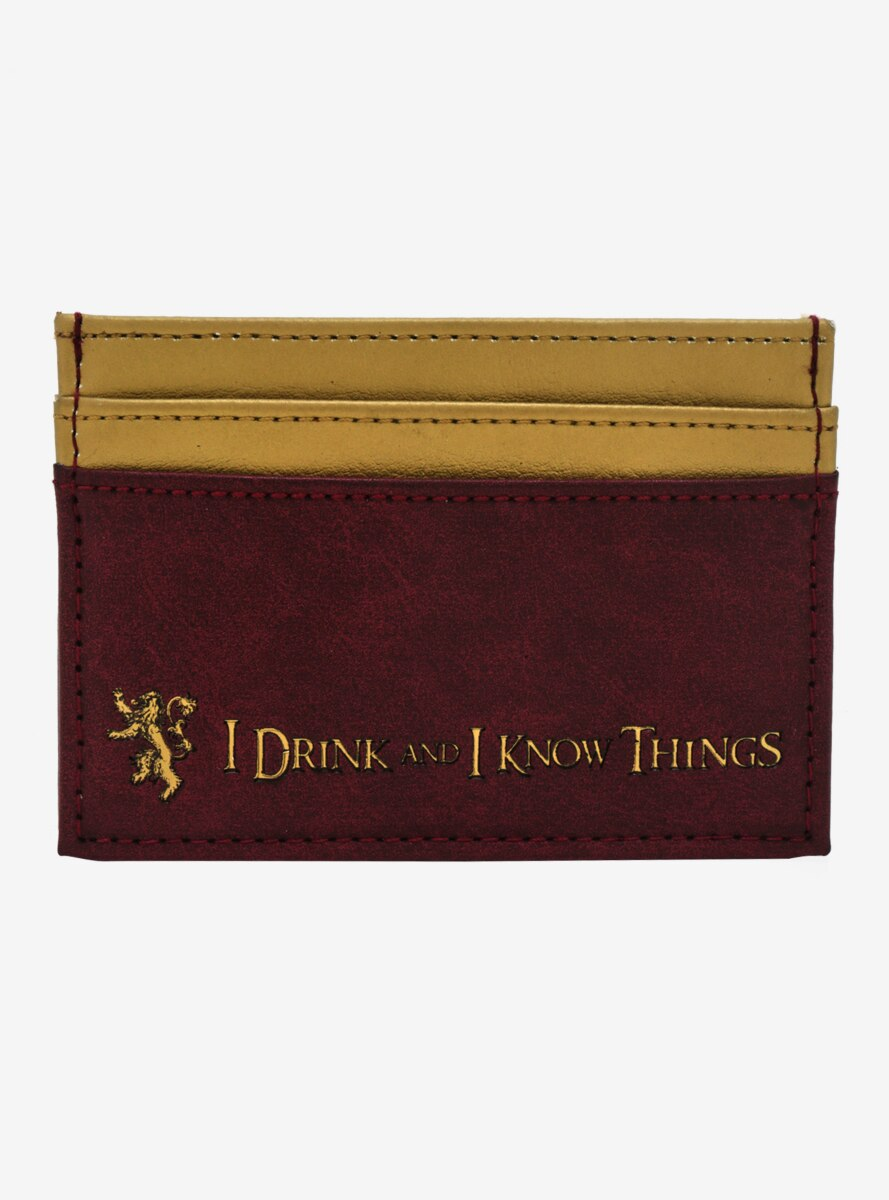 Game Of Thrones Tyrion Lannister Cardholder - BoxLunch Exclusive