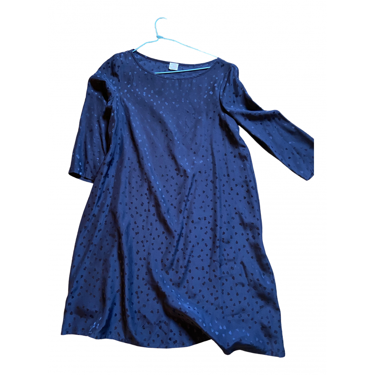 Des Petits Hauts \N Black Silk dress for Women 1 0-5