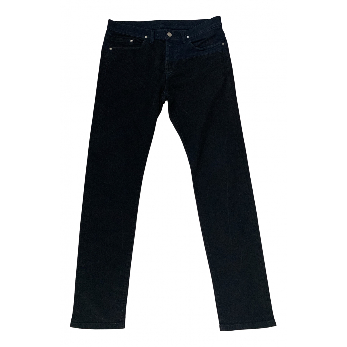 Kenzo N Black Cotton Jeans for Men 32 US