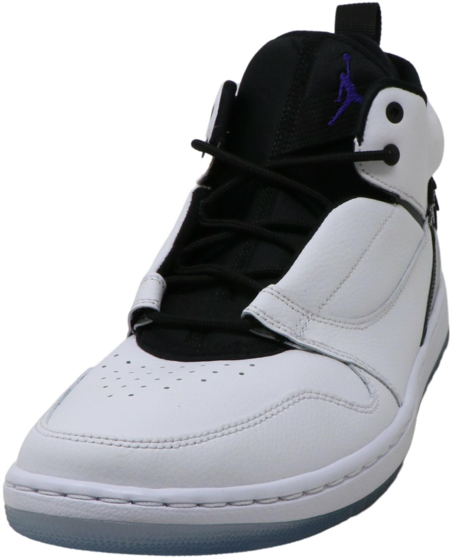 Nike Men's Jordan Fadeaway 100 High-Top Leather Basketball - 10M