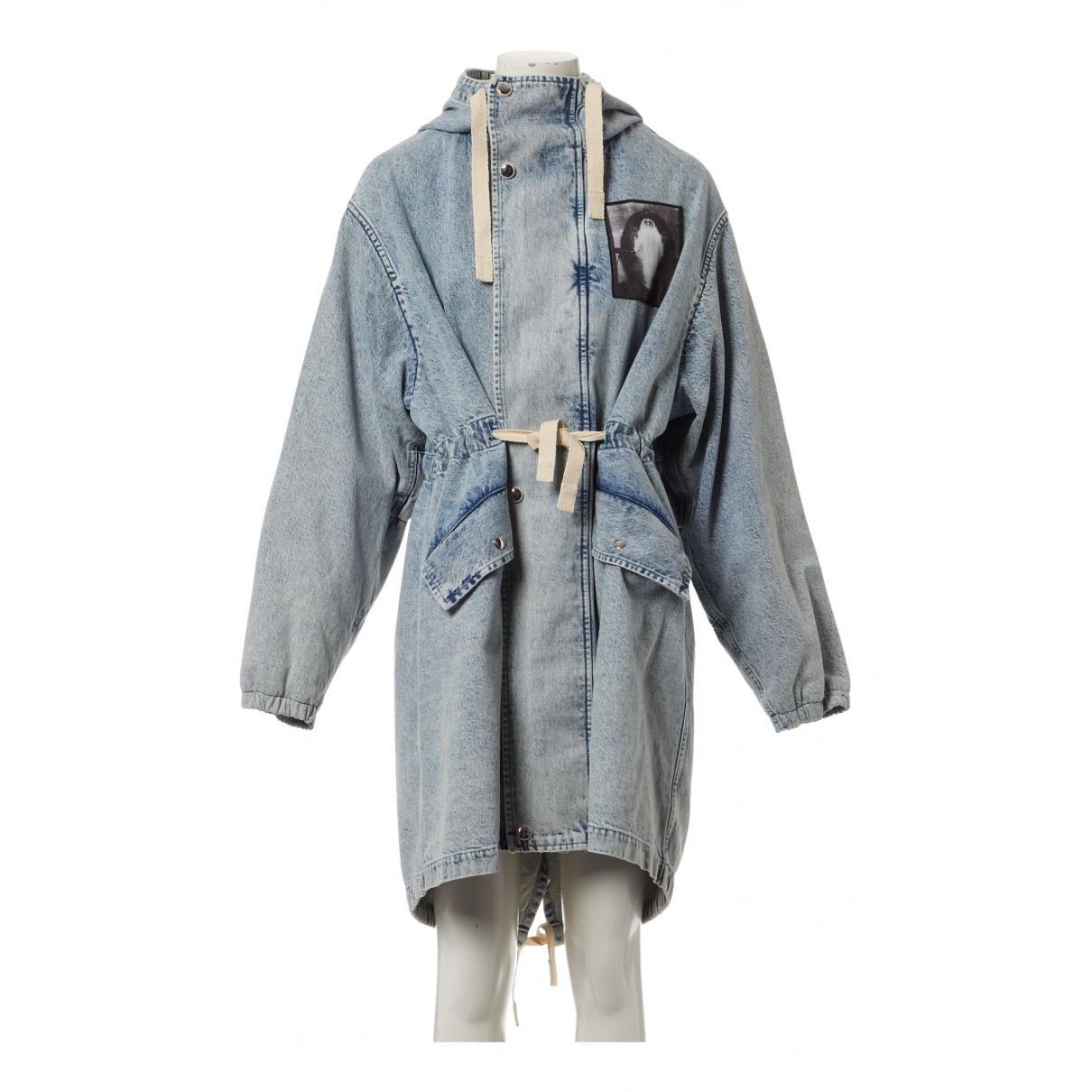 Acne Studios - Veste   pour femme en coton - bleu