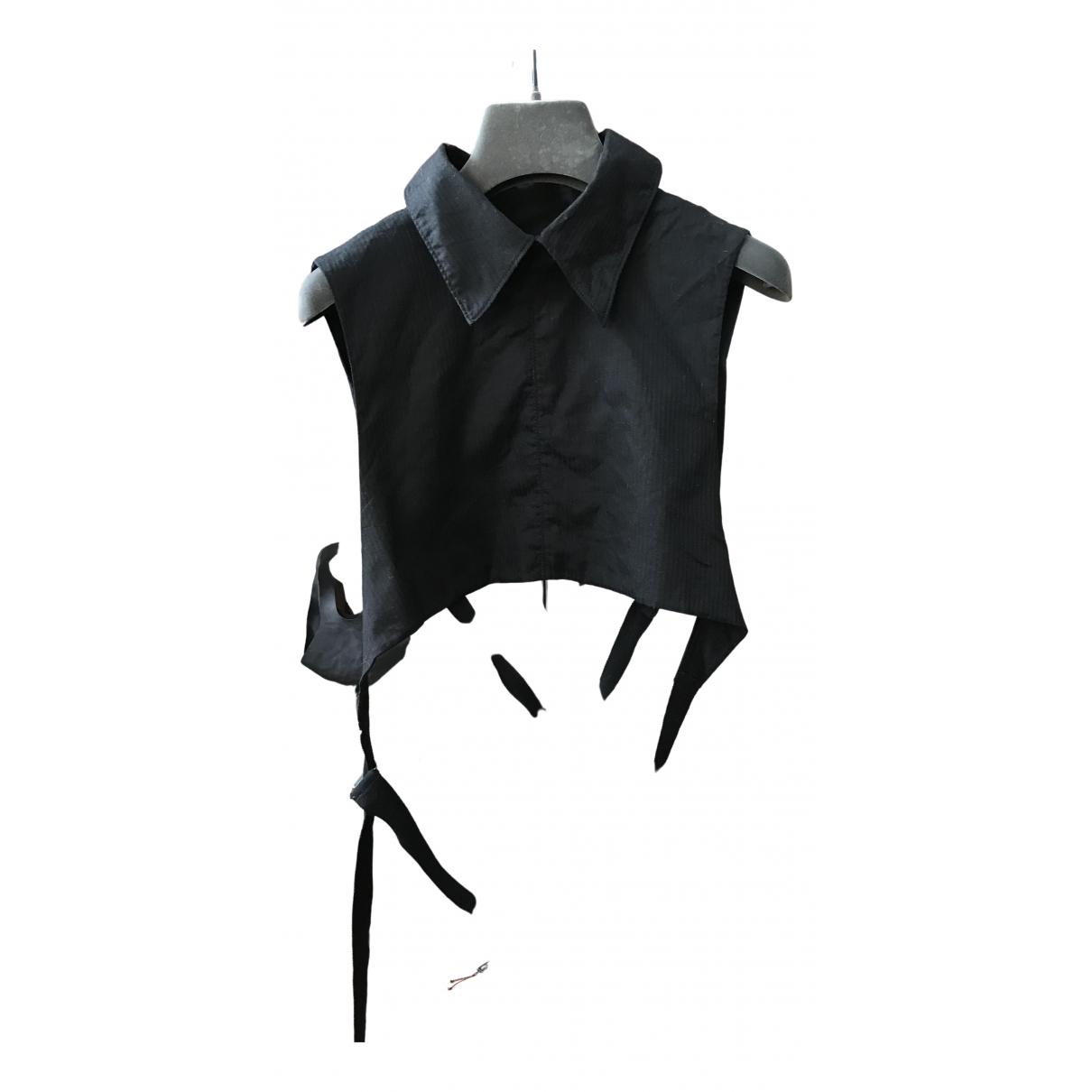 Ann Demeulemeester - Top   pour femme en coton - noir