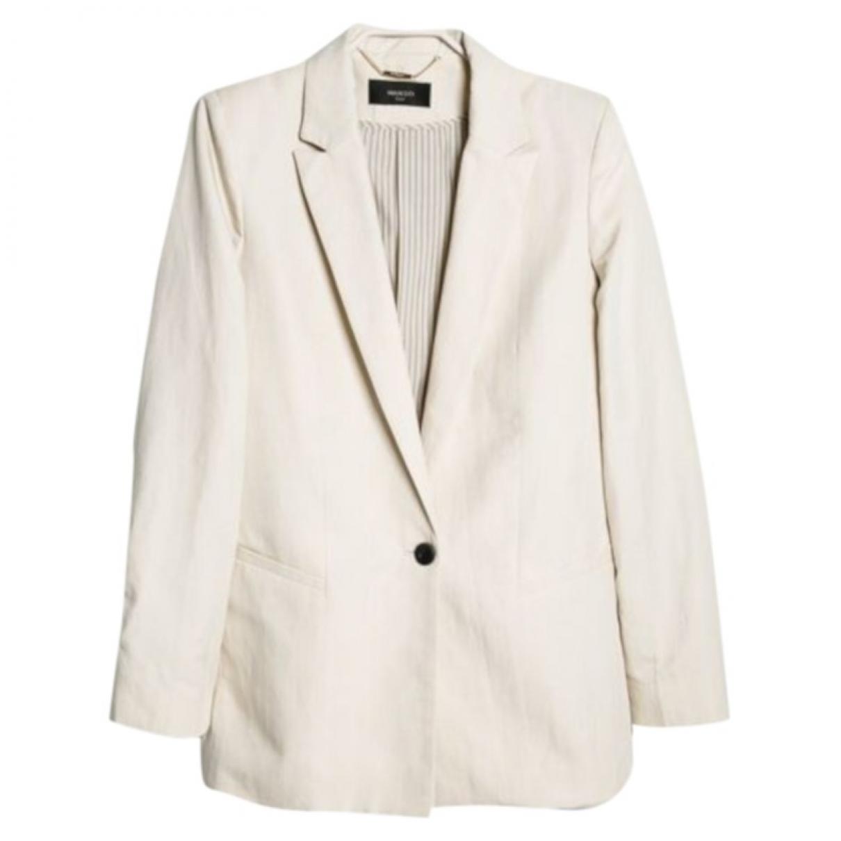 Mango \N Beige jacket for Women S International