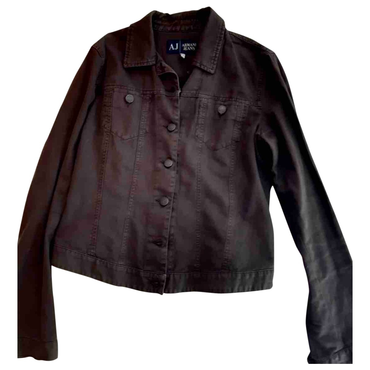 Armani Jeans \N Jacke in  Anthrazit Denim - Jeans