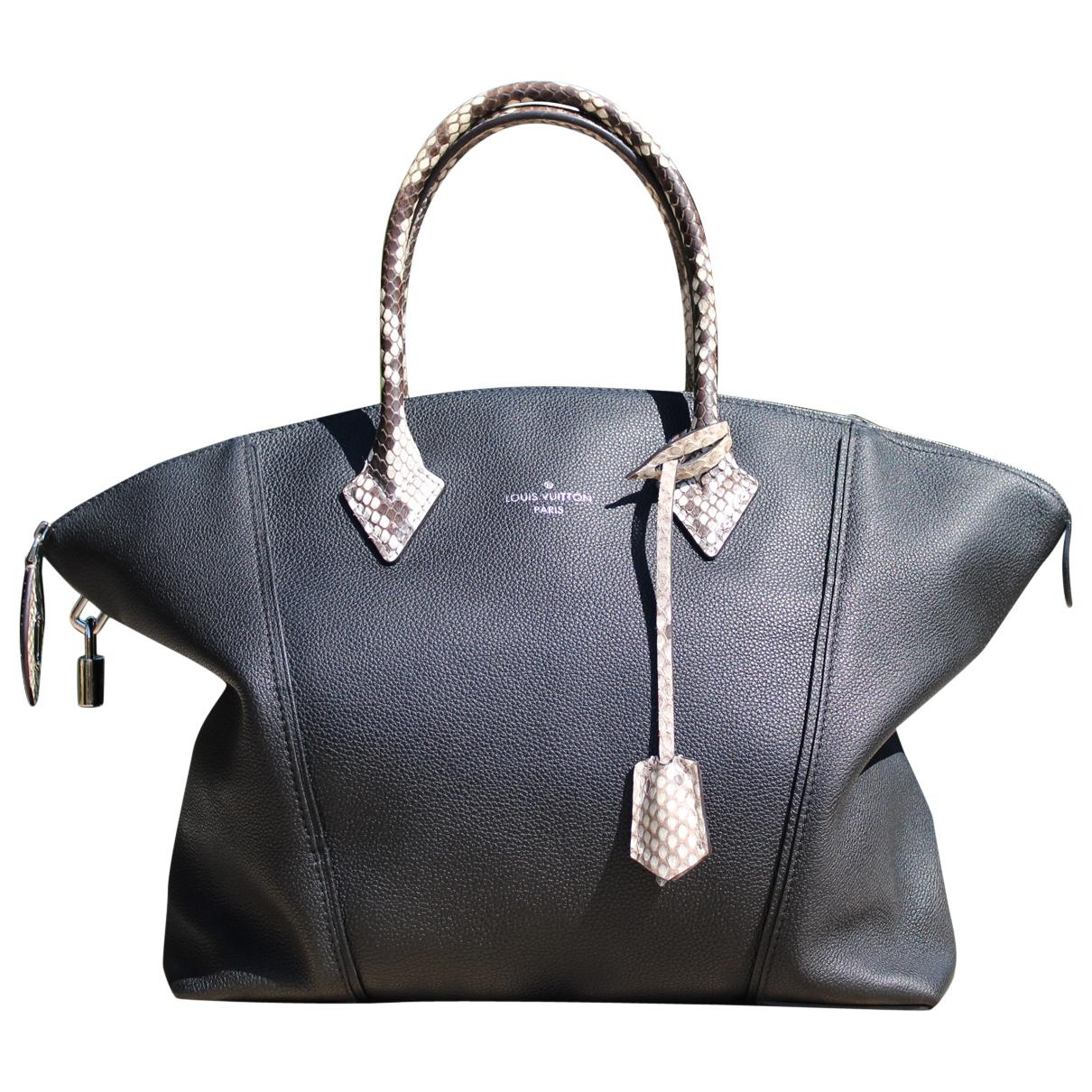 Louis Vuitton Lockit Handtasche in  Schwarz Leder