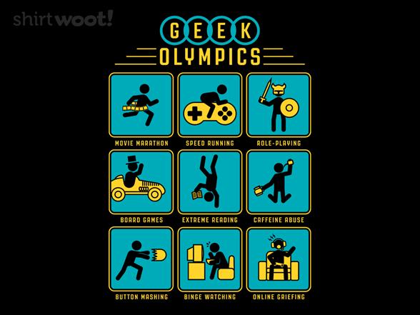 Geek Olympics T Shirt