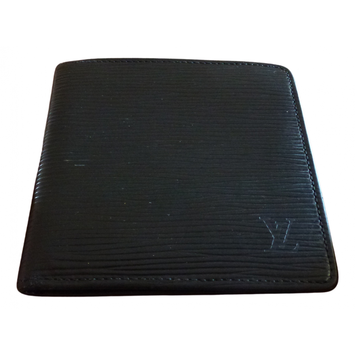 Louis Vuitton Marco Black Leather Small bag, wallet & cases for Men \N
