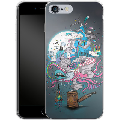 Apple iPhone 6s Plus Silikon Handyhuelle - Pipe Dreams von Mat Miller
