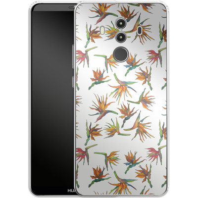 Huawei Mate 10 Pro Silikon Handyhuelle - Paradise Flower Pattern von Kaitlyn Parker