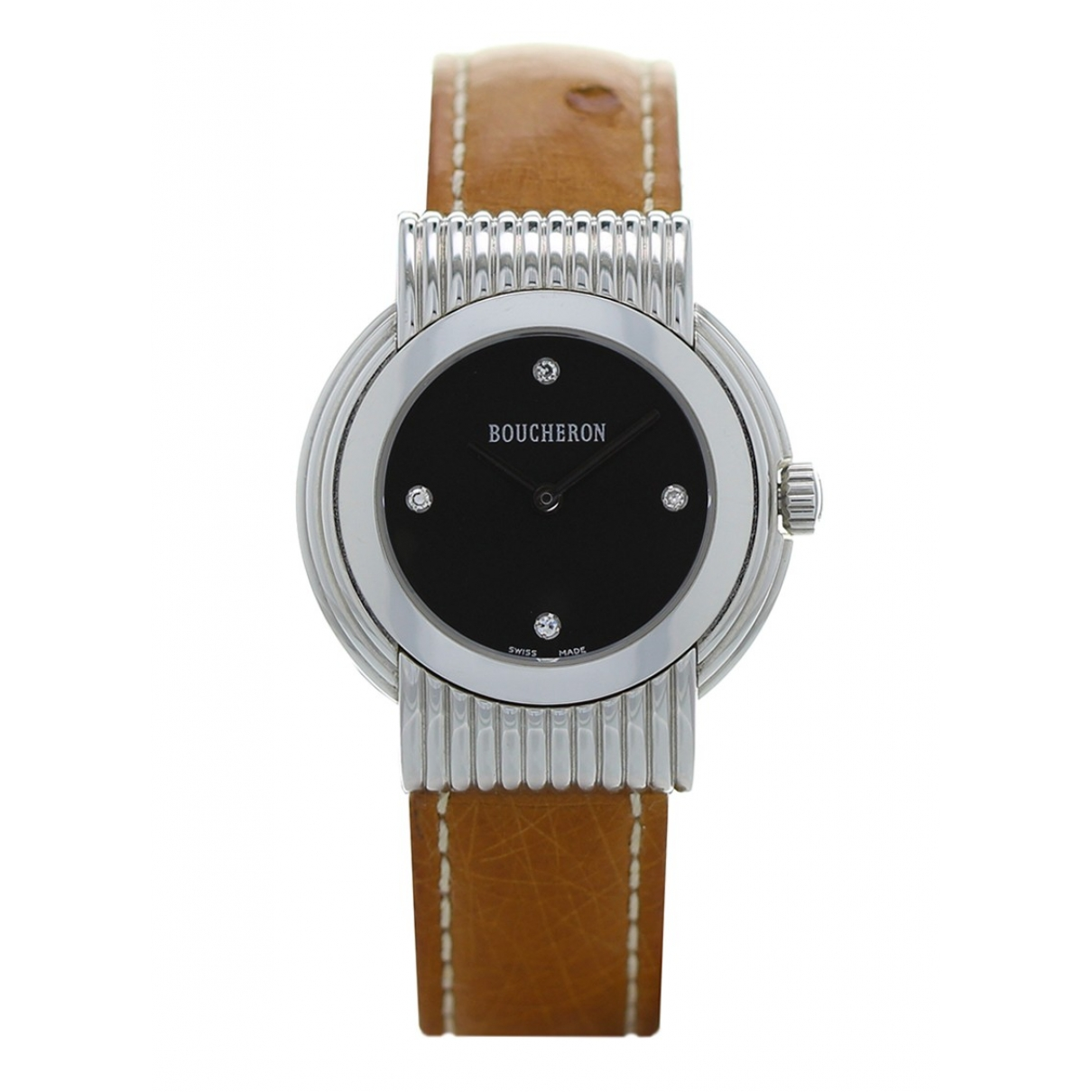 Boucheron \N Khaki Steel watch for Women \N