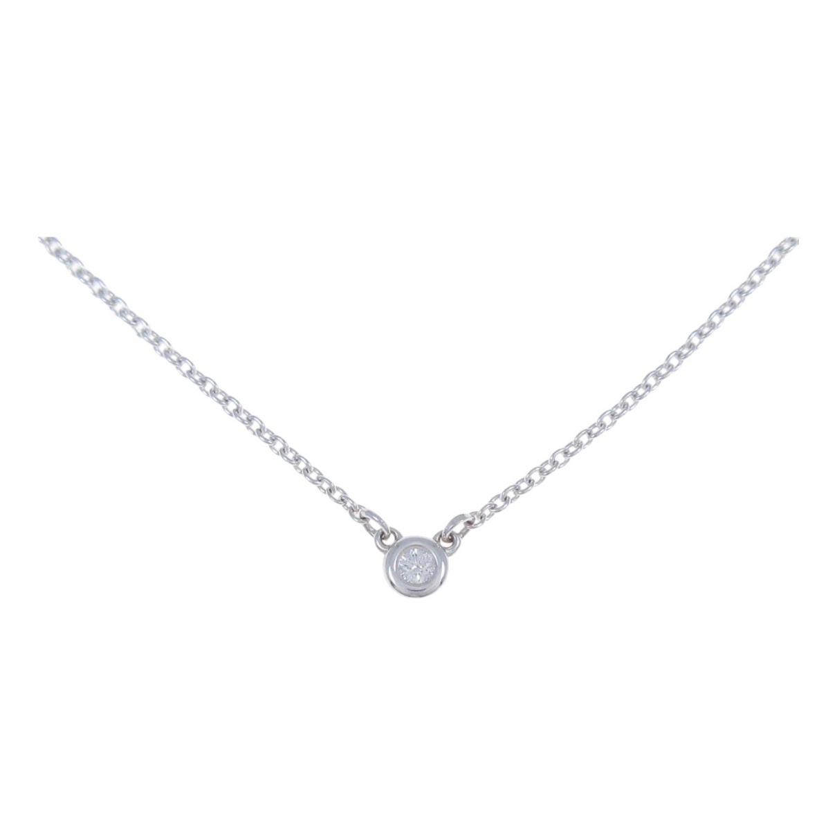 Tiffany & Co Elsa Peretti  Kette in  Silber Silber