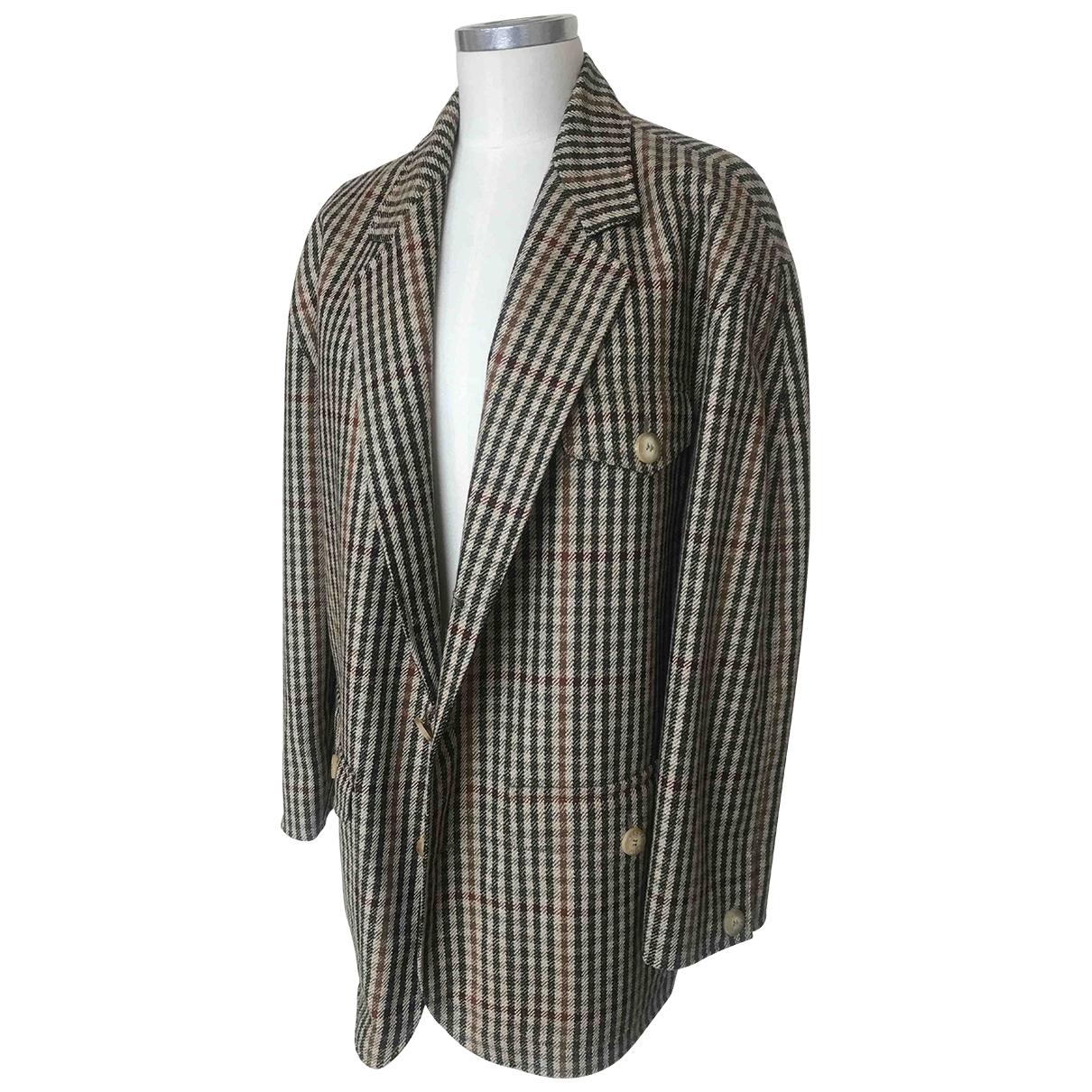 Hermès \N Camel Wool jacket  for Men L International