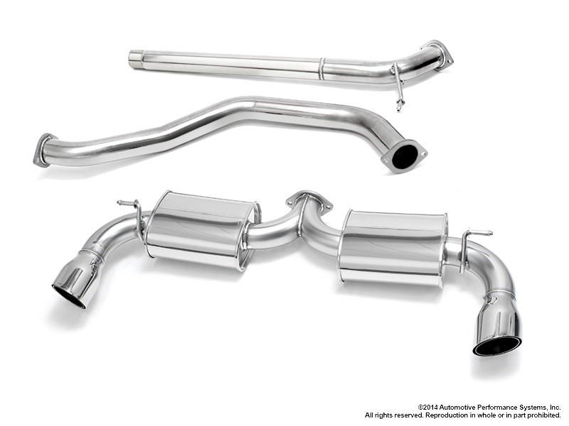 Neuspeed 30.10.87 Stainless Steel Catback Exhaust System VW (MK7) GTI 15-17