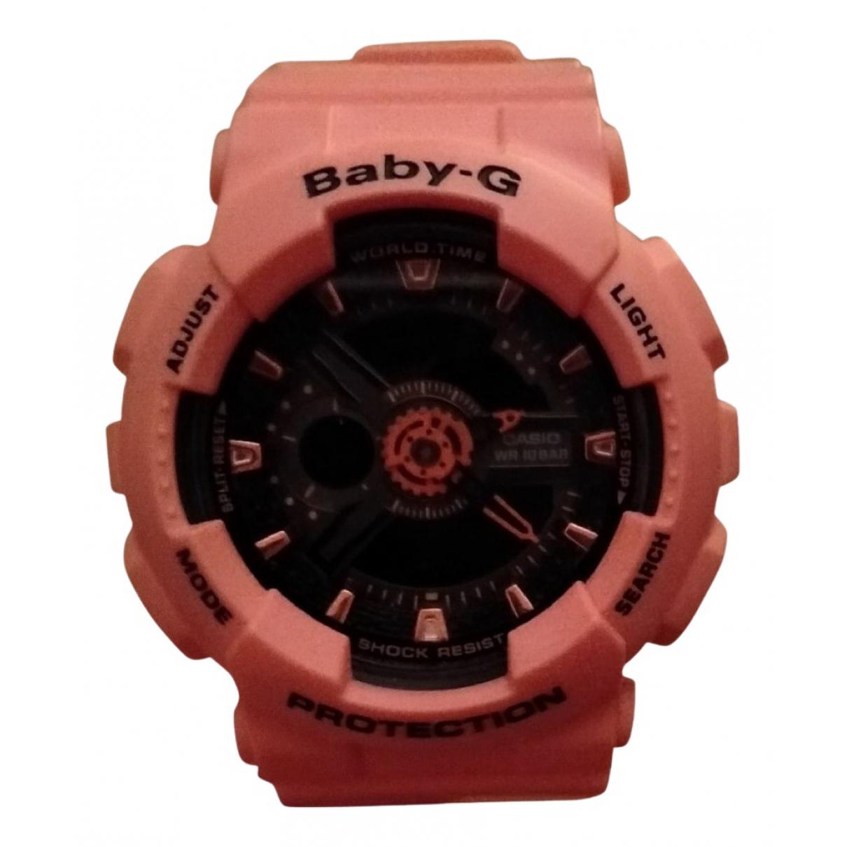 Casio N Pink Steel watch for Women N