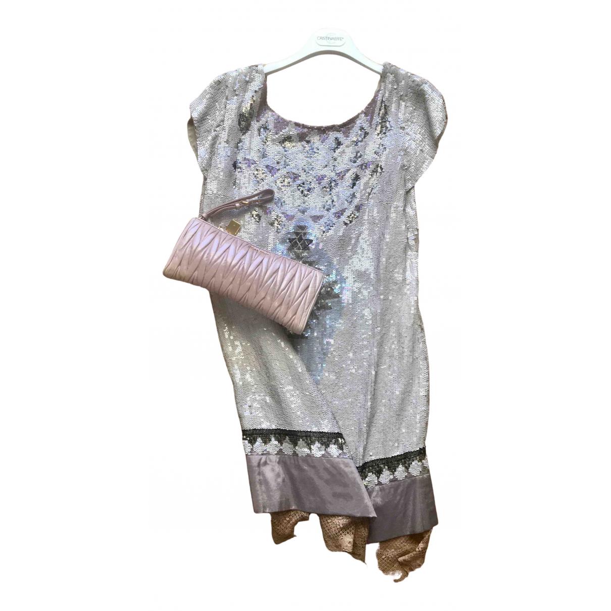 Mini vestido de Con lentejuelas Twin Set