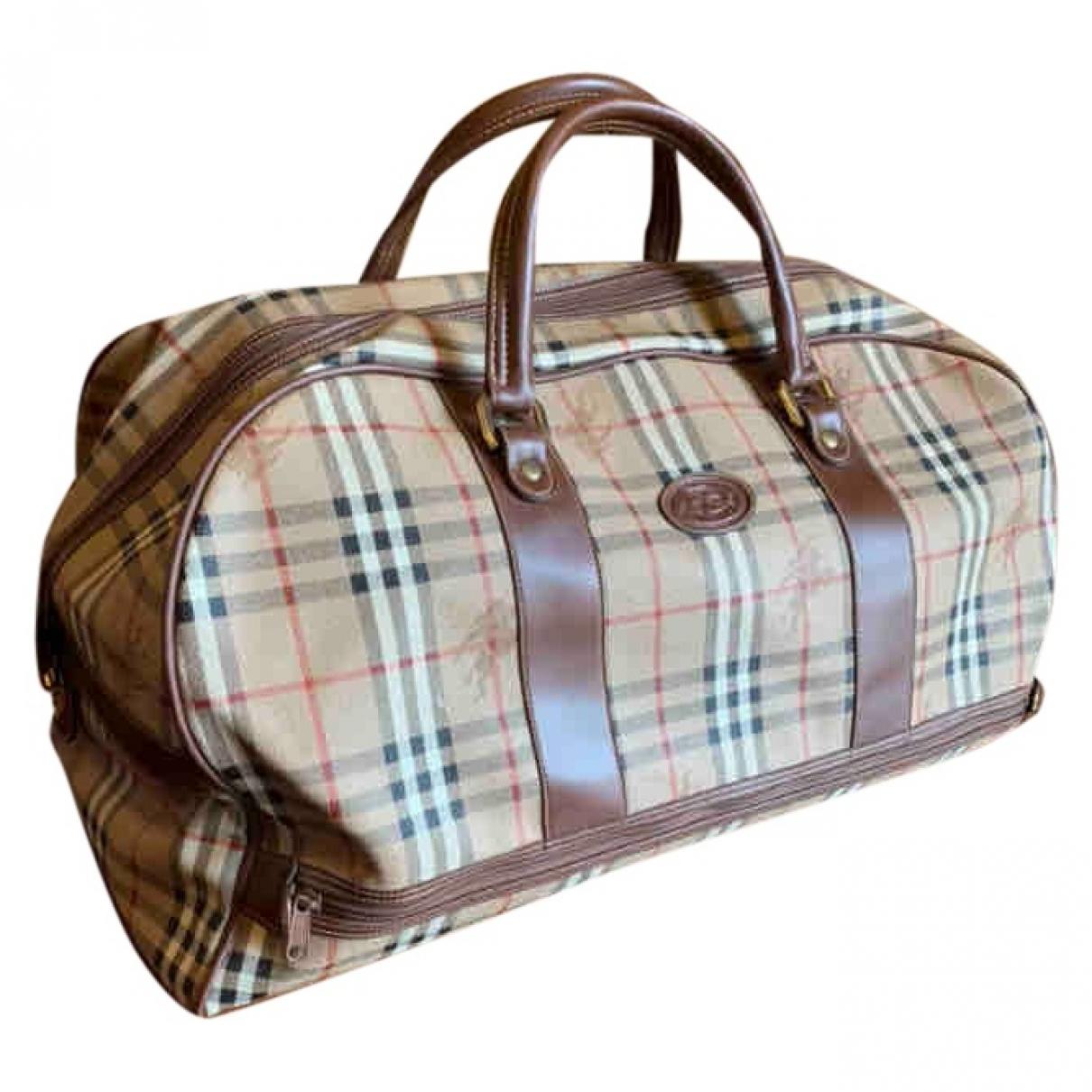 Burberry \N Multicolour Cloth Travel bag for Women \N