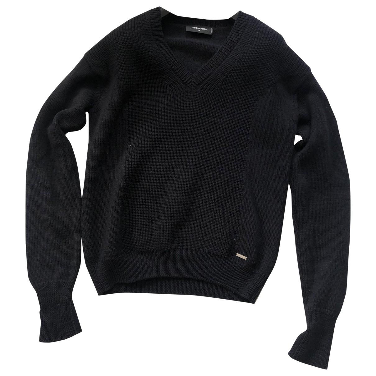 Dsquared2 \N Black Wool Knitwear & Sweatshirts for Men 48 IT
