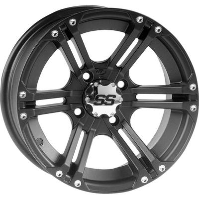 ITP SS212 14x6 Wheel with 4 on 110 Bolt Pattern (Black) - 14SS400