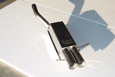 Eisenmann Stainless Catback Exhaust 2x83mm Round Tips Mercedes-Benz C180 SportCoupe 01-08