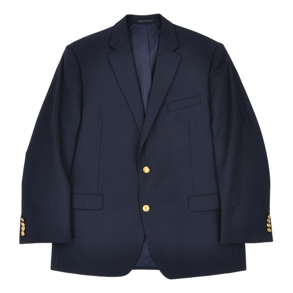 Lauren Ralph Lauren \N Navy Wool jacket  for Men L International