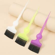 1pc Solid Hair Dye Random Brush