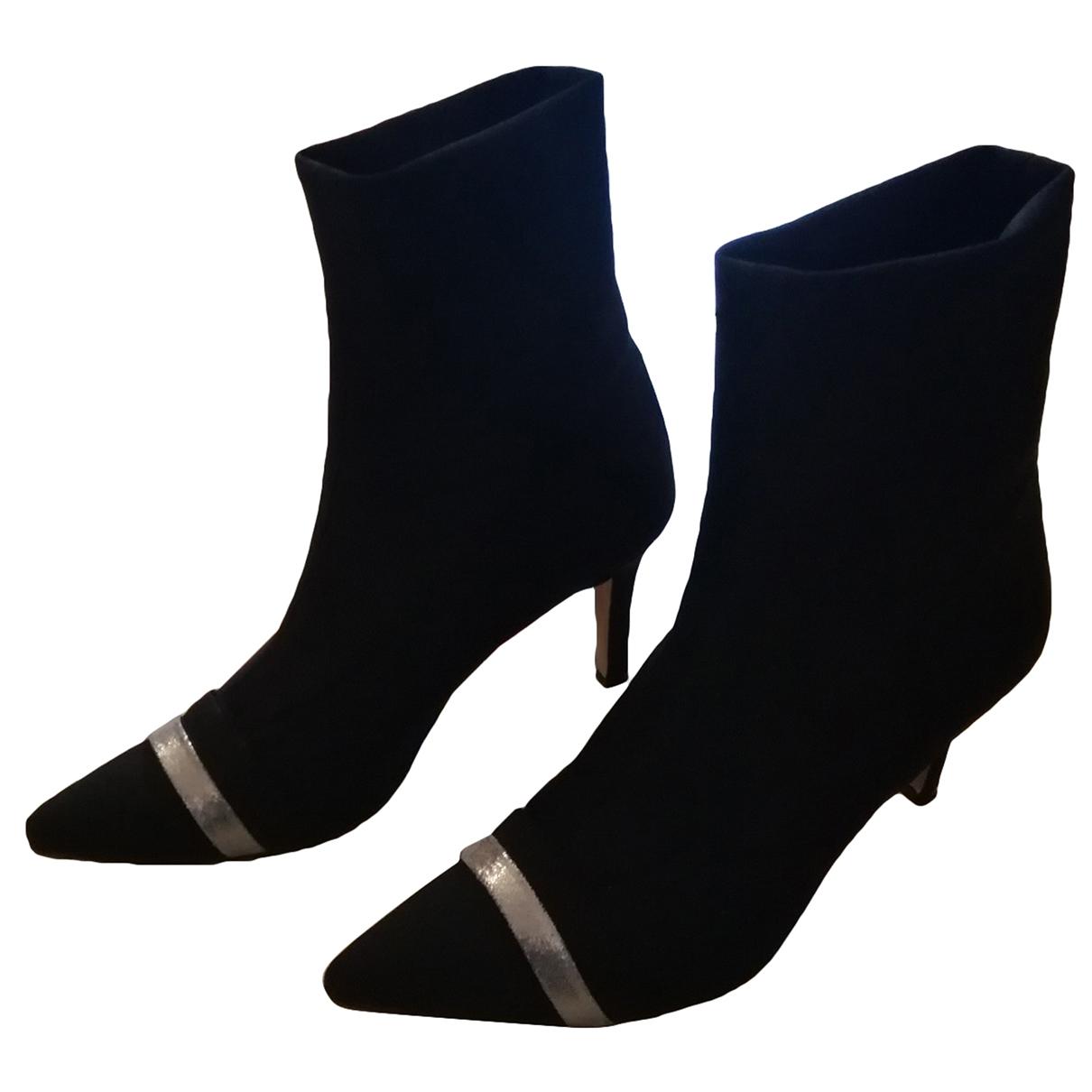 - Boots   pour femme - anthracite