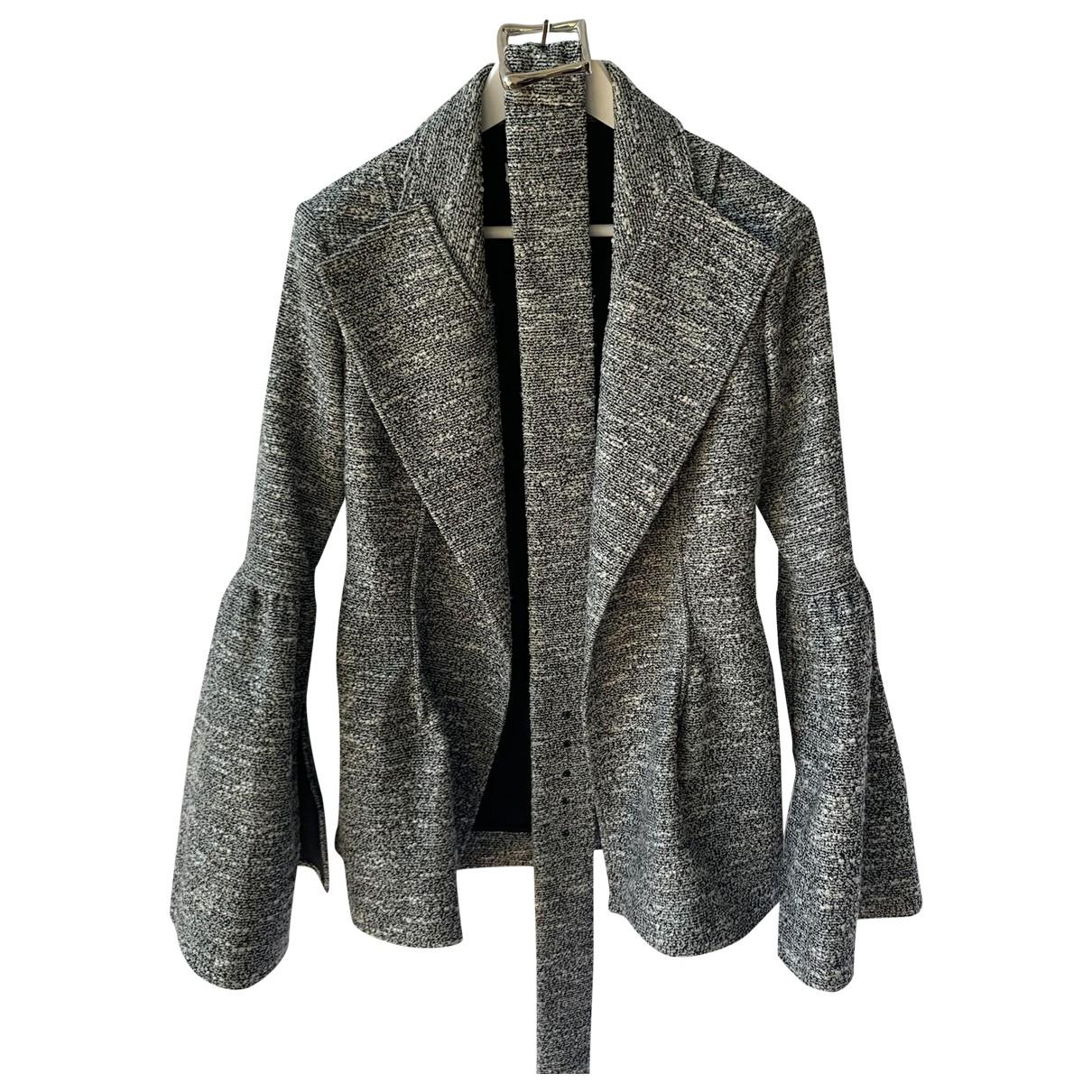 Rejina Pyo \N Jacke in  Grau Polyester
