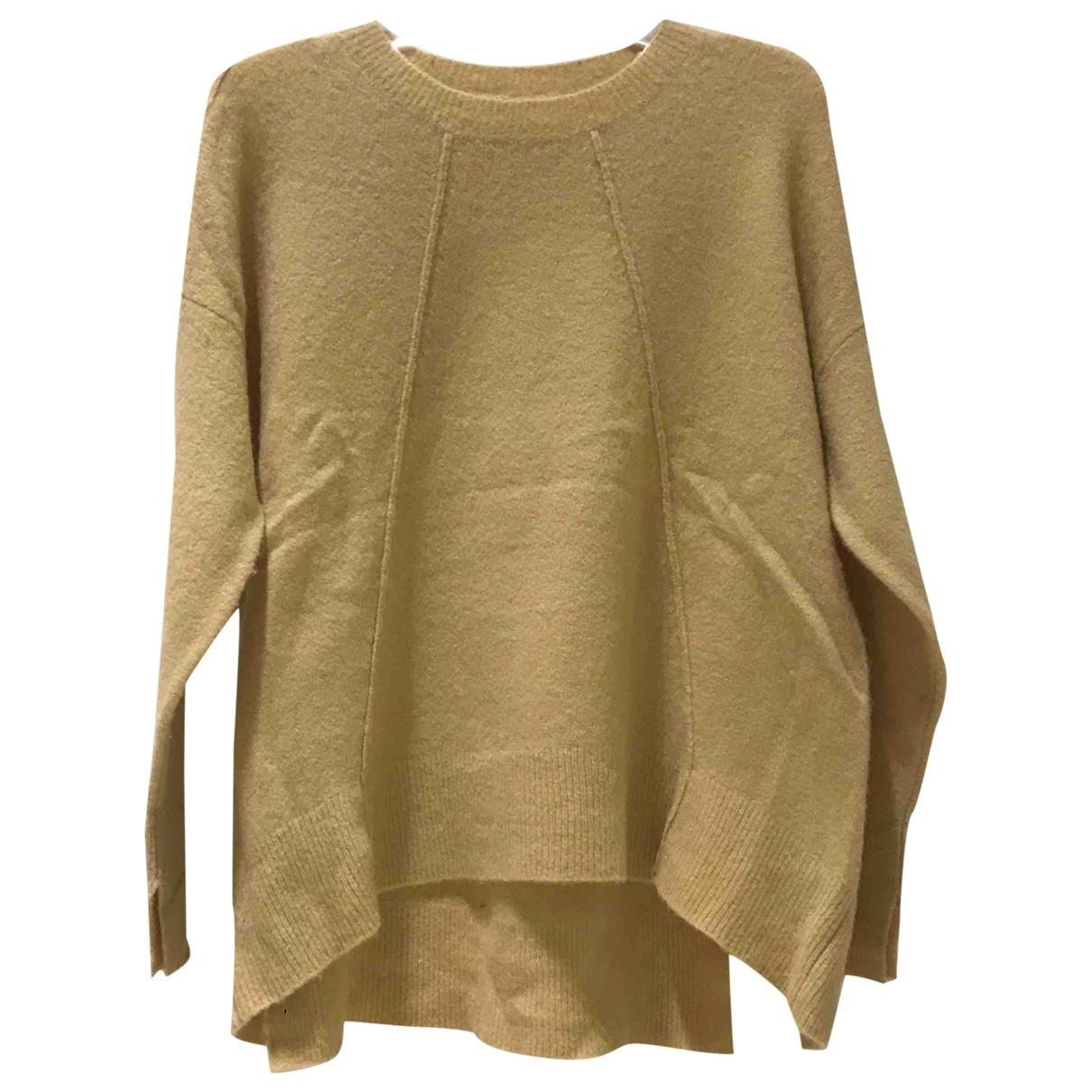 By Malene Birger - Pull   pour femme en laine - jaune