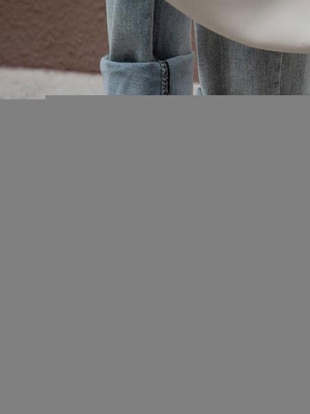 Milanoo Botines de mujer de tela elastica botines de tacon de cachorro con punta cuadrada negra