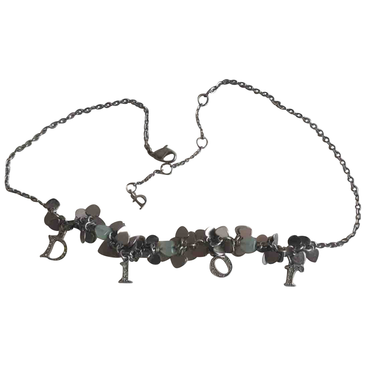 Dior \N Silver Metal necklace for Women \N