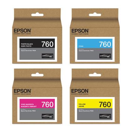 Epson 760 T760 Original Ink Cartridge Combo PBK/C/VM/Y