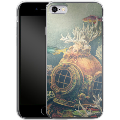 Apple iPhone 6 Silikon Handyhuelle - Sea Change von Terry Fan