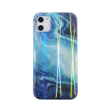 Marble Print Laser iPhone Case