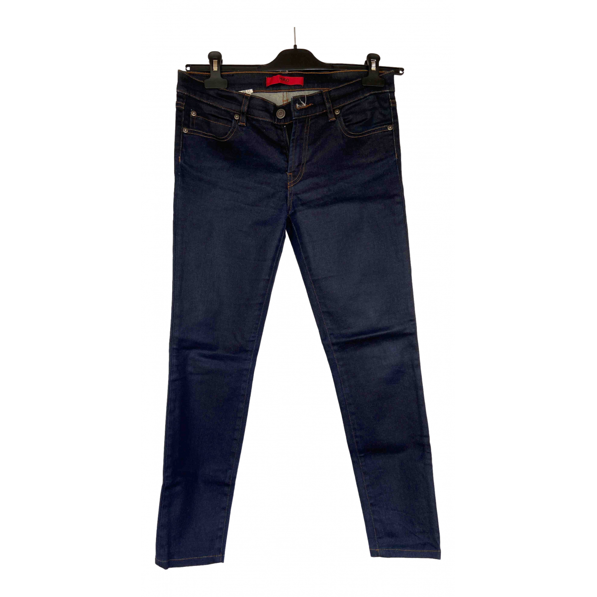 Hugo Boss \N Navy Cotton Jeans for Women 29 US