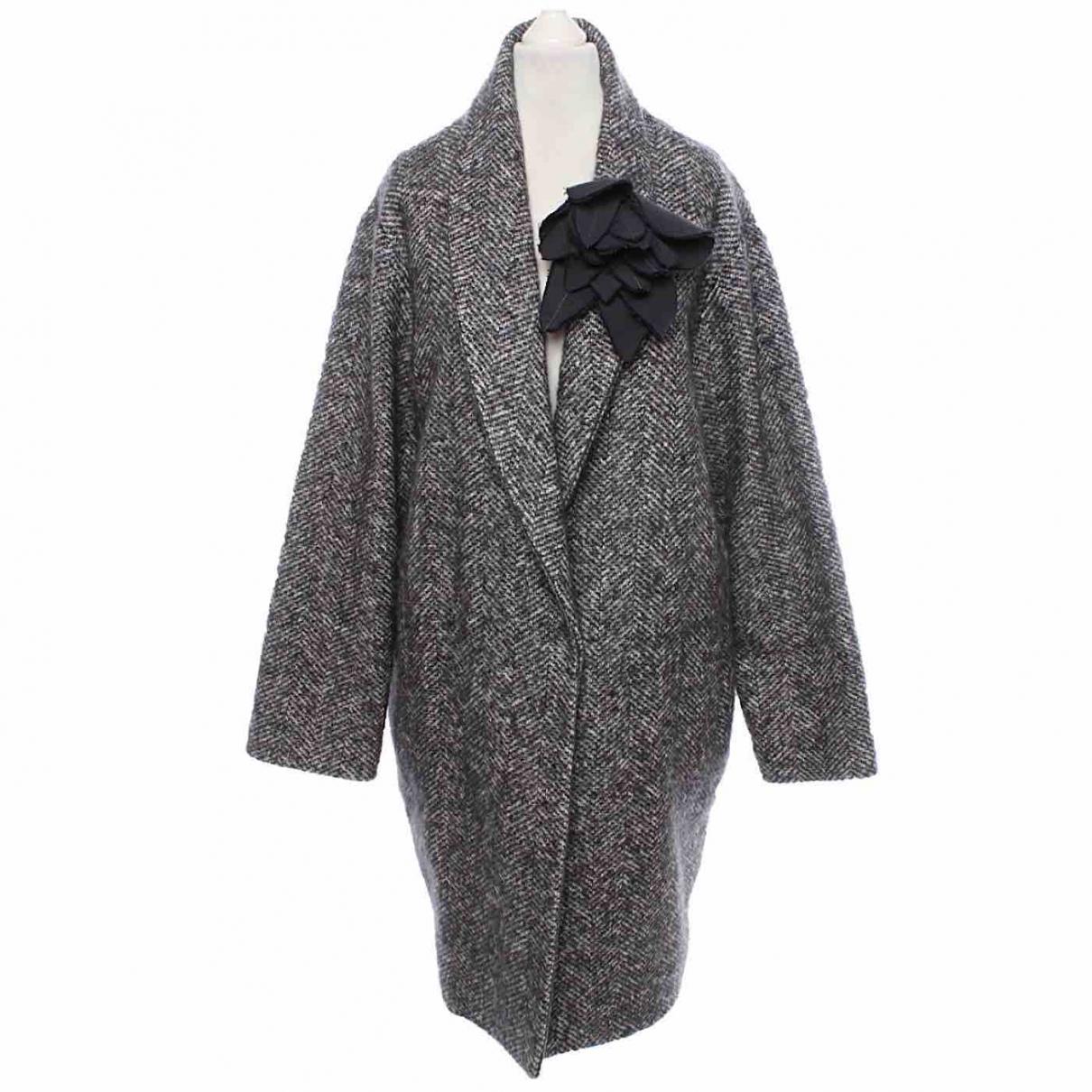 Fabiana Filippi - Manteau   pour femme en laine - anthracite