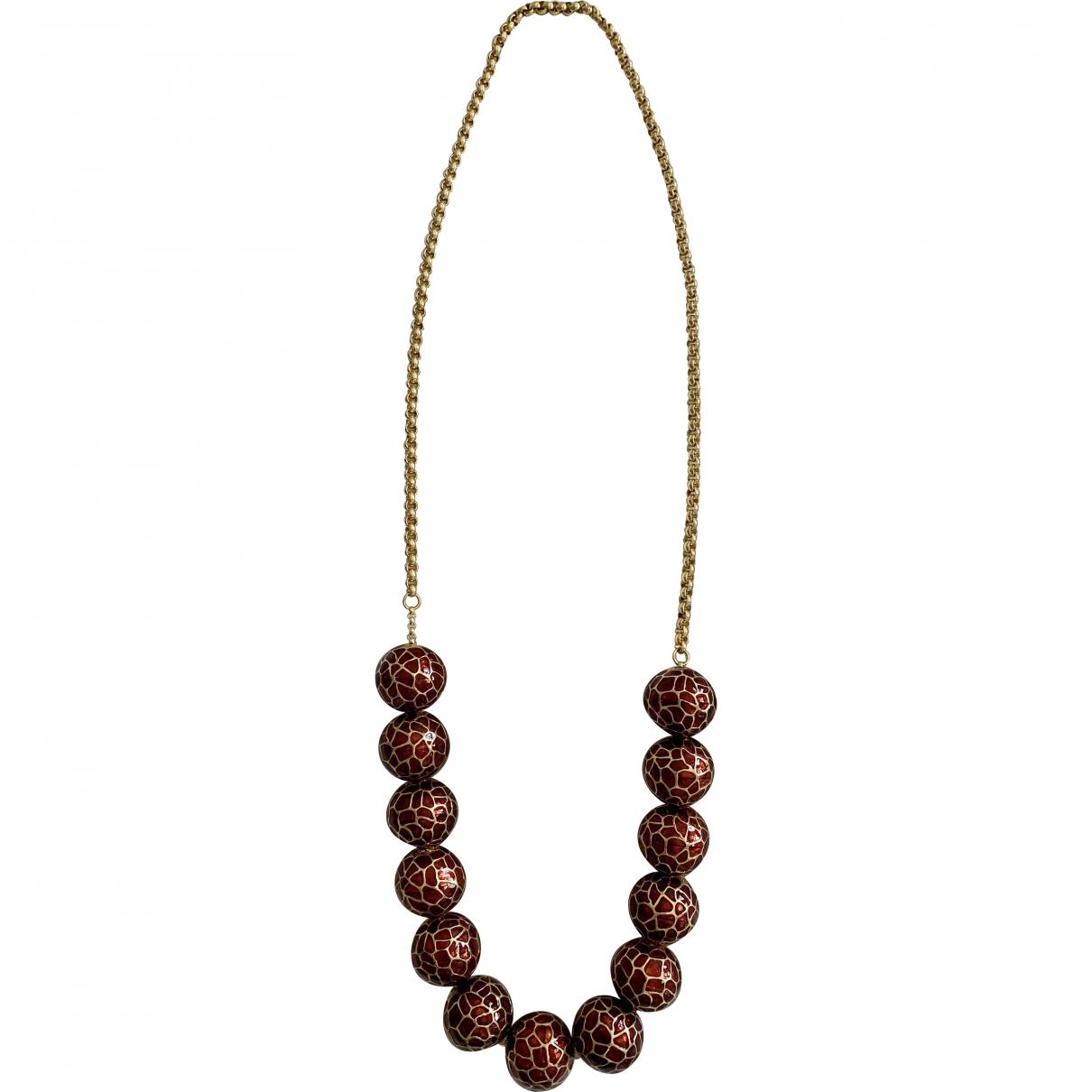 Mawi - Collier   pour femme en metal - dore