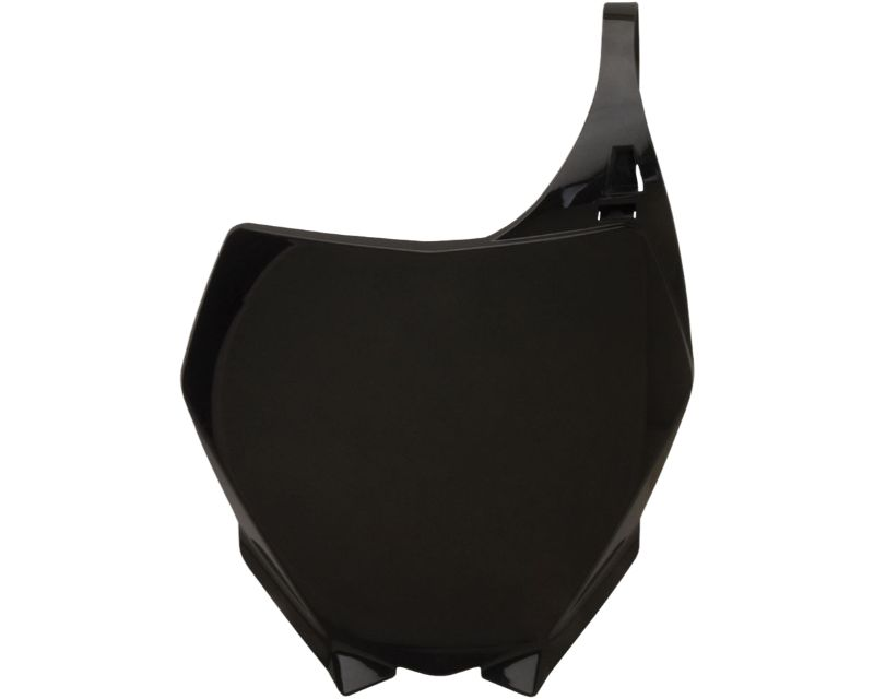 Acerbis 2042390001 Front Number Plate Black Yamaha YZ250F 06-09