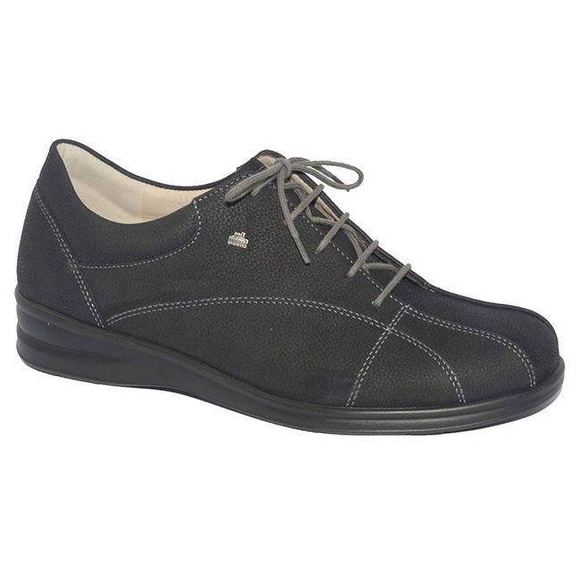 Finn Comfort Ariano Black Leather 45 Uk