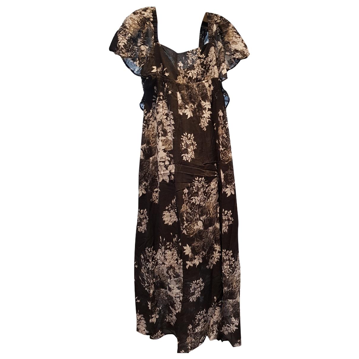 Twin Set \N Black Cotton dress for Women L International