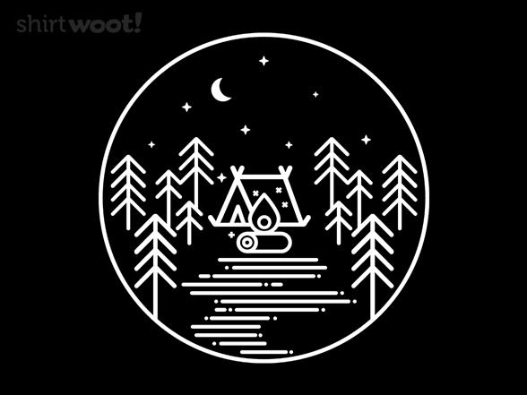 Starry Campsite T Shirt