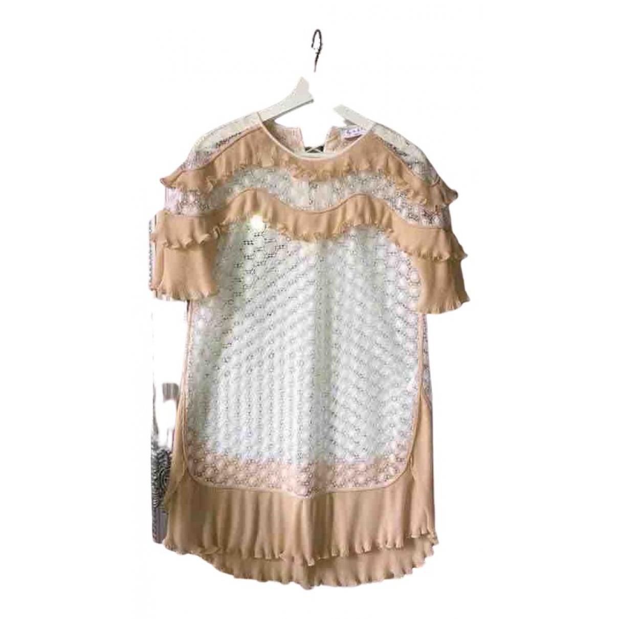 Sandro N White Lace dress for Women 36 FR