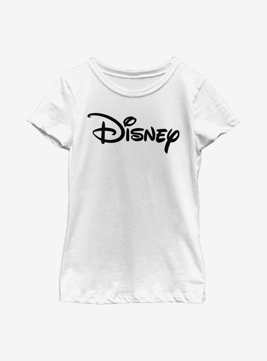 Disney Classic Basic Disney Logo Youth Girls T-Shirt