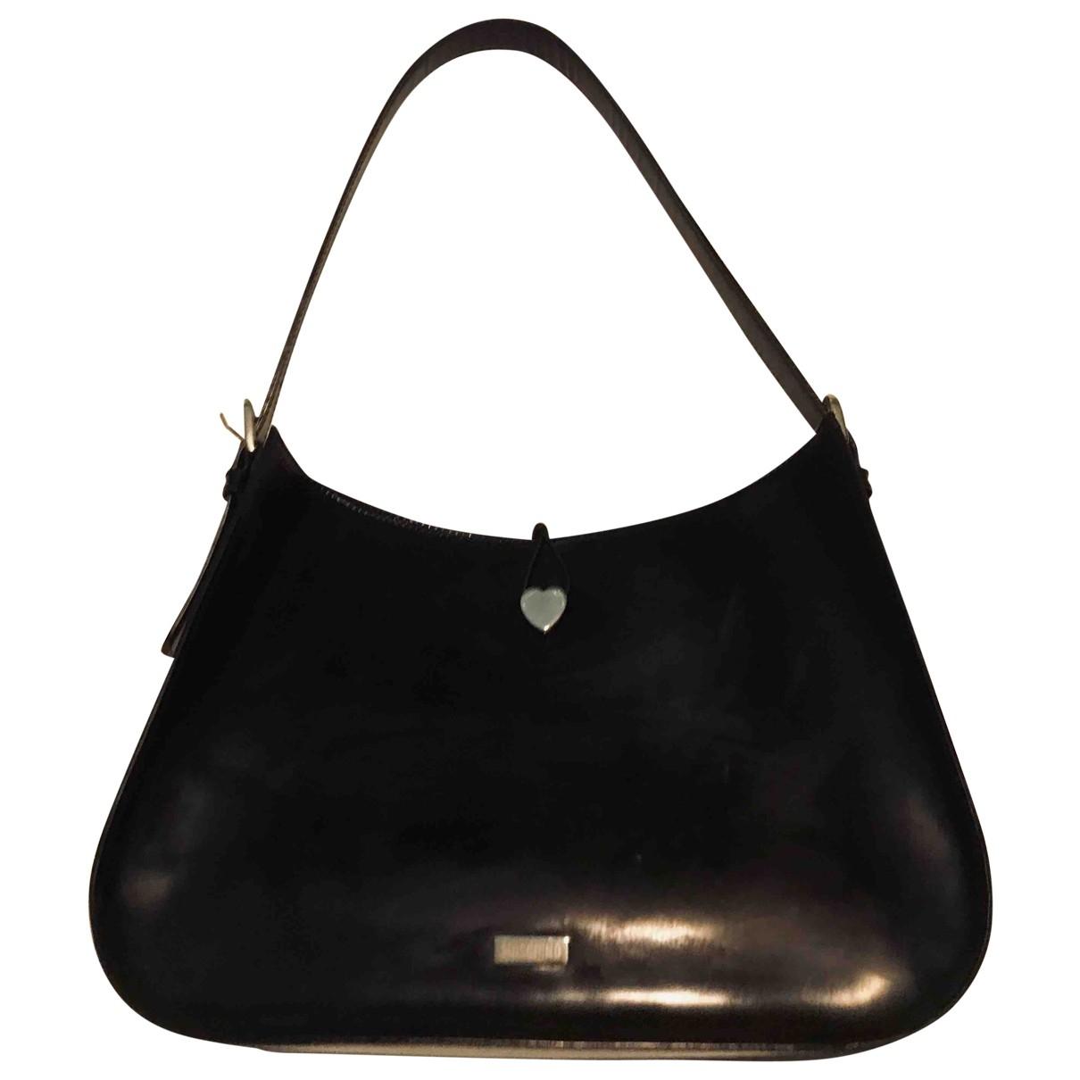 Moschino \N Black Patent leather handbag for Women \N