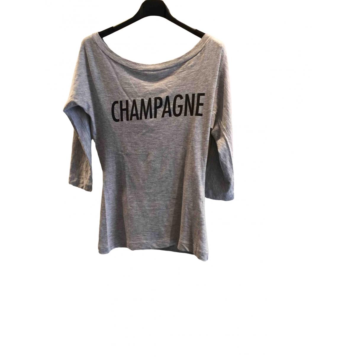 Dsquared2 - Top   pour femme en coton - gris