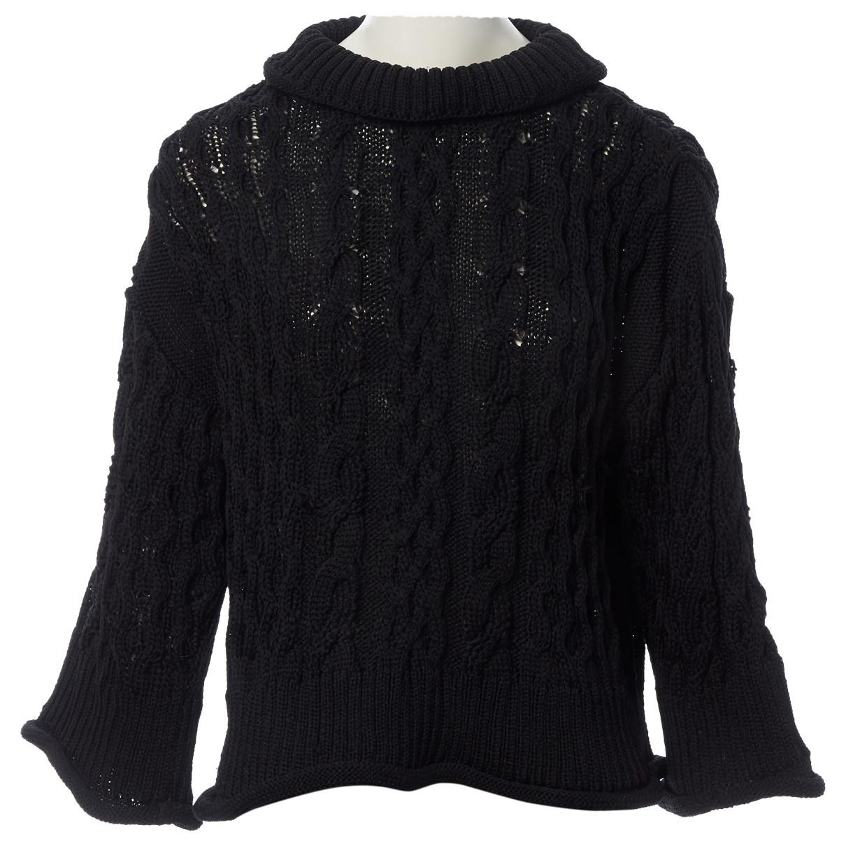 Dior \N Pullover in  Schwarz Synthetik