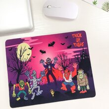 Halloween Zombie Mouse Pad