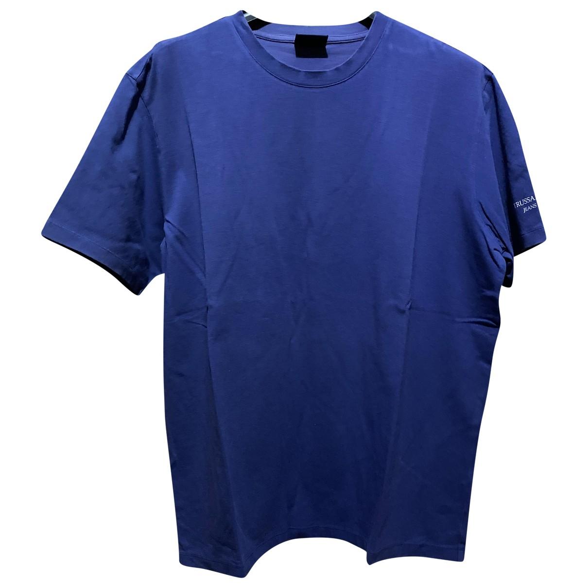 Trussardi Jean - Tee shirts   pour homme en autre - violet