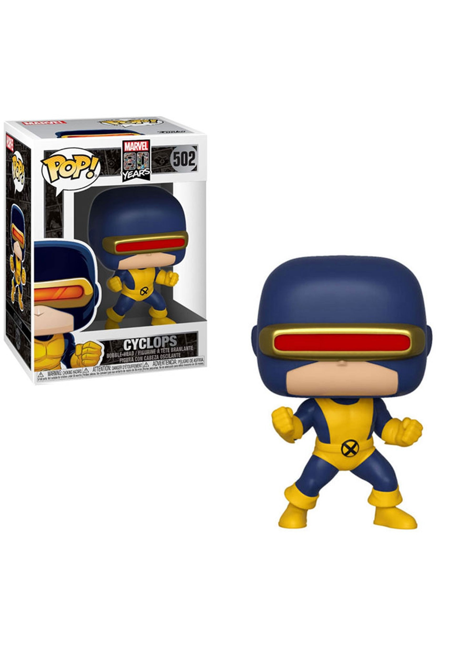 First Appearance- Cyclops Pop! Marvel: 80th