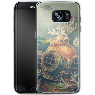 Samsung Galaxy S7 Edge Silikon Handyhuelle - Sea Change von Terry Fan