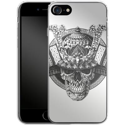 Apple iPhone 7 Silikon Handyhuelle - Samurai Skull von BIOWORKZ